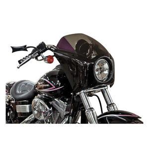 Arlen-Ness-Bolt-On-Fairing-Verkleidung-schwarz-fuer-Harley-Davidson-Dyna-06-17