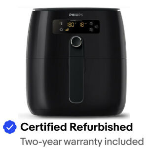 Philips Avance Collection Turbostar Digital Airfryer, Black -  HD9641/96
