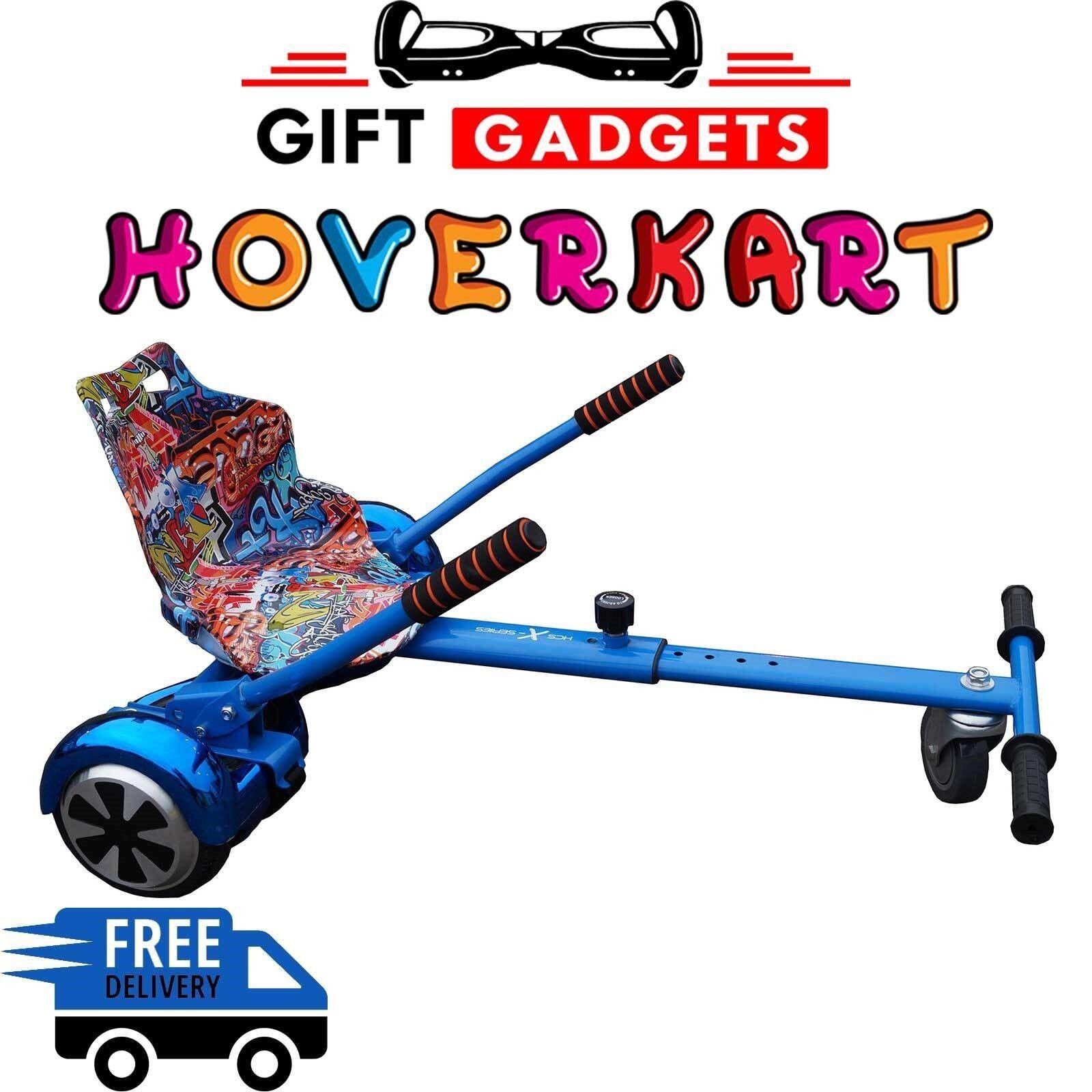 bluee HCS Original HoverKart For Congreening Selfbalance Go Kart Hover Kart bluee