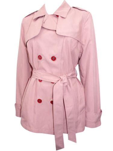 Entièrement neuf sans étiquette m/&s Femme Rose Belted Trench-Coat 12 16 18