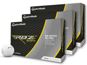 TaylorMade RBZ Soft Golf Balls - 3 Dozen White -  Mens