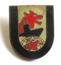 U-Boat 12th flotilla cap hat pin Badge Kriegsmarine WW2  Abzeichen WK.2 German