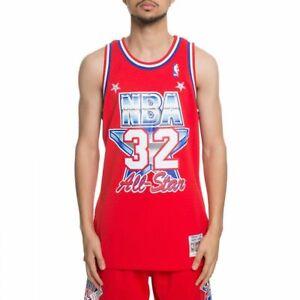 5272eaa56 Mitchell   Ness NBA All-Star Magic Johnson West Swingman Jersey ...