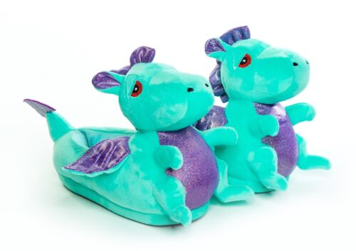 Dragon LED Light up Slippers Adults or Child Size UK Seller