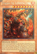 Yugioh CBLZ-EN040 Pyrorex the Elemental Lord Secret Rare Card