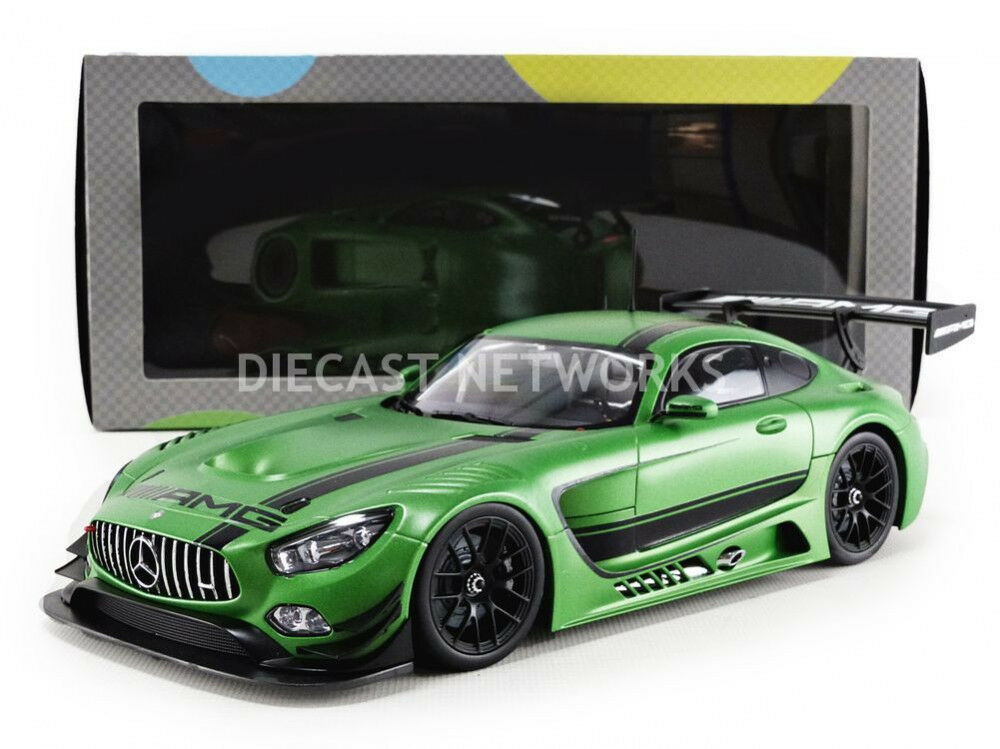 Paragon 2015 MERCEDES BENZ AMG GT3 verde Hell Magno 1/18 Scale Nuovo Release