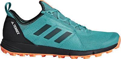 Capace Adidas Terrex Di Velocità Scarpe Da Corsa Da Uomo-verde-mostra Il Titolo Originale