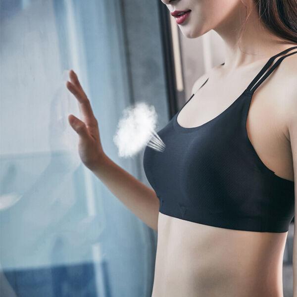 Damen Sport BH Bra Unterwäsche  Sport Fitness Yoga Bustier Top Nahtlose Neu