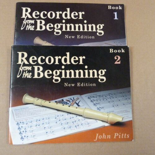 2 new edition recorder RECORDER FROM THE BEGINNING Book 1 John Pitts