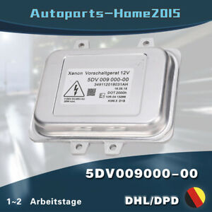 5DV009000-00 Xenon Steuergerät Vorschaltgerät Für Hyundai Für KIA Citroen VW BMW