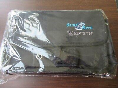 SURF RITE QUALITY SUPREME SURF MEDIUM BAG SHOULDER FISHING 5 INSERT 12 POCKET