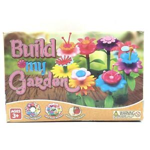 Build-My-Garden-Flower-Garden-Playset-90-Piece-Learning-Educational-Toys-3-NEW