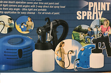 Paint Sprayer Electric Zoom Spray Gun System Painting Fence DIY Tool Painting