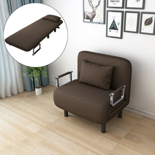Super Convertible Sofa Bed Folding Arm Chair Sleeper Leisure Recliner Lounge Couch 1 2 Caraccident5 Cool Chair Designs And Ideas Caraccident5Info