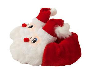 image is loading kids childrens santa claus 3d novelty soft slip - Santa Claus Kids