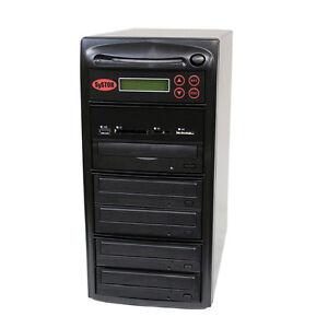 SySTOR 1-4 USB/SD/CF/MS/MMC MultiMedia Backup Copier to CD DVD Duplicator
