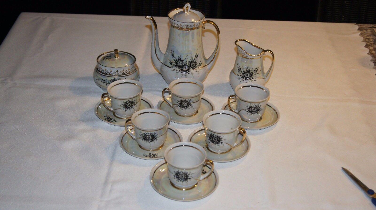 Porzellan Kaffeeservice 15 tlg. für 6 Personen, Autor der Arbeit | Schönes Design