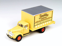 Mini Metals CMW 1 87 HO 41 46 Chevy Delivery Truck Sunshine Bakery #30333 MIB Toys