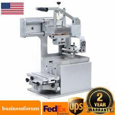 Manual Pad Printing Machine Pad Printer Opened Ink Dish System Plate Pad Diy Usa
