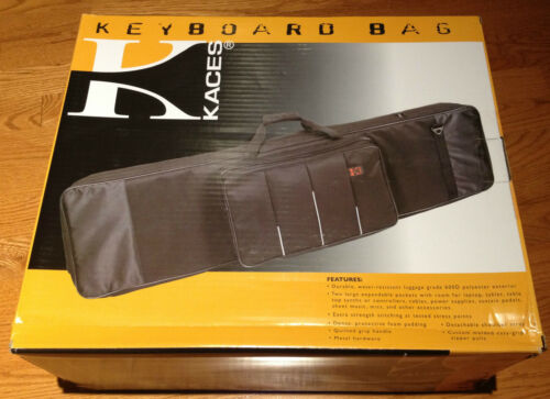 NEW KACES XPRESS SERIES DELUXE TRAVEL KEYBOARD CASE BAG 76 NOTE MODEL 11-KB