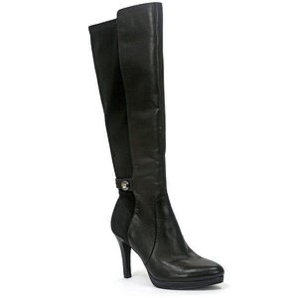 TAHARI Garrett Tall Tall Tall Boots WOMENS BLACK 113474 3c520c