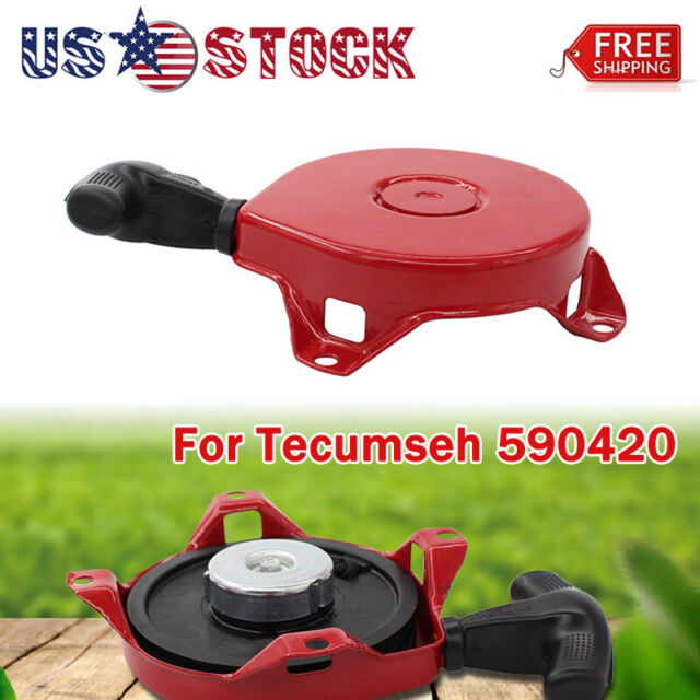 For Tecumseh 590420 Stens150-003 recoil pull starter asy H50 H60 H70 5,6,7hp