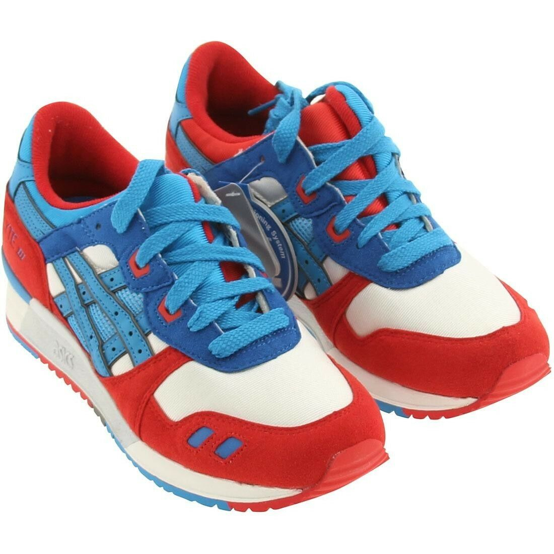 4.0 Asics Men Gel-Lyte III 3 lyte white directoire bluee captain america ronnie f