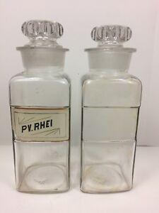 Antique Apothecary Bottle