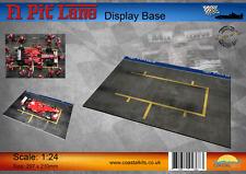 Escala 1:24 F1 Pit Lane, base de la pantalla