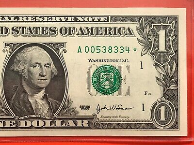 2003 $1 BOSTON STAR *