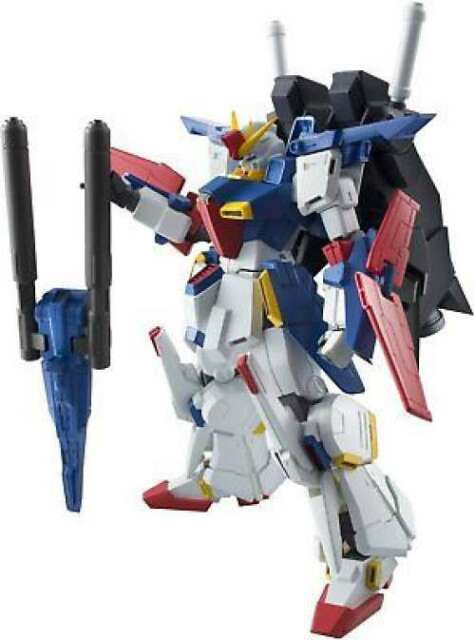 Robot Spirits [SIDE MS] ZZ Gundam Action Figure Bandai From Japan