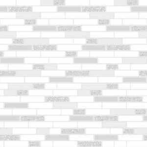 TILING ON A ROLL OBLONG GRANITE TILE GREY WALLPAPER - HOLDEN 89193