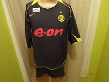 """Borussia dortmund original nike proporcionen camiseta 2004/05 """"e-on"""" talla XXL Nuevo"""