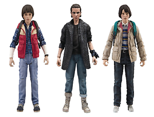 Stranger Things Punk Eleven, Mike & Will Set of 3 Figures McFarlane
