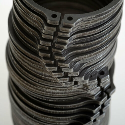 """Pack of 200 Snap Ring 1-7//8/"""" Phosphate Finish Details about  /External Retaining Ring"""
