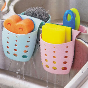 New-Kitchen-Sponge-Sink-Baskets-Drain-Holder-Storage-Hanging-Bag-Organizer