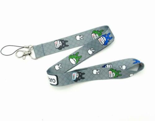 Wholesale Lanyard Phone Neck Strap Cartoon Card Document Keychain Keyring Holder
