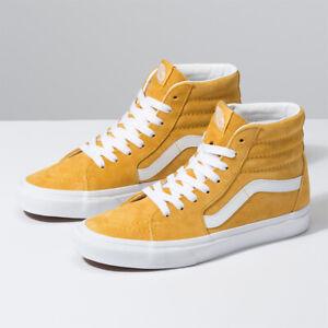 Details zu Vans Pig Suede SK8 Hi Skate High Sneakers Shoes Yellow VN0A4BV6V77 Size US 4 13
