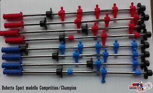 SERIE ASTE COMPLETE PER CALCIO BALILLA ROBERTO SPORT COMPETITION/CHAMPION