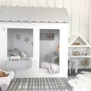 Toddler Bed Cottage Cubby House Floor