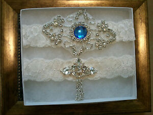Wedding-garter-Bridal-Garter-Set-Crystal-Something-Blue-Wedding-Garter-Set