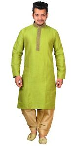Men/'s Exclusive Fine Cotton Navy Kurta Shalwar Kameez Pyjama Asian Sherwani 817