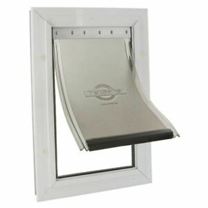 PetSafe-Staywell-Pet-Dog-Door-Flap-Aluminium-2-Way-Lock-Extra-Large-660-XL-White