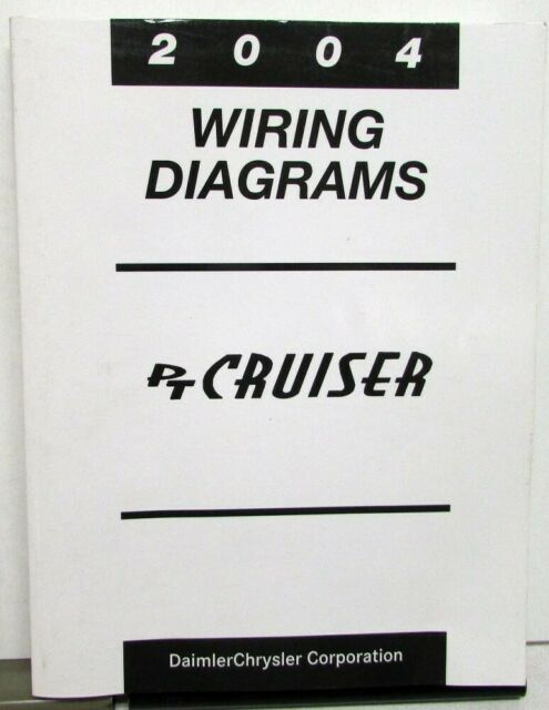 2004 Chrysler Pt Cruiser Electrical Wiring Diagrams Shop Service Manual