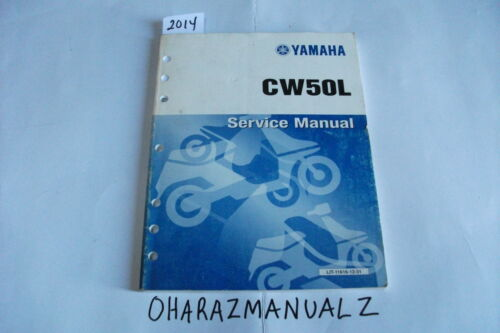 YAMAHA CW50L Service Manual Other Motorcycle Manuals Vehicle Parts ...