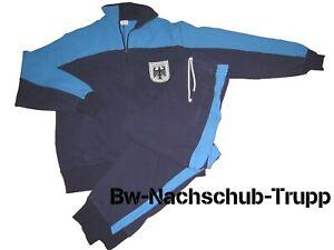 d6f7019036 Das Bild wird geladen Original-BW-Bundeswehr-Sportanzug-Trainingsanzug -Jogginganzug-Gr-48-