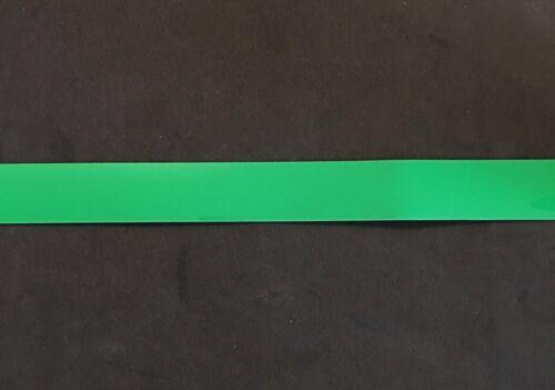 "3//4/"" Green Full Size Football Helmet Stripe Decal High Quality 20 Mil"