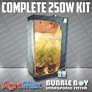 COMPLETE-250-watt-HYDROPONIC-GROW-TENT-KIT-SYSTEM-8-PLANTS-LIGHT-FAN-250w-HPS-w