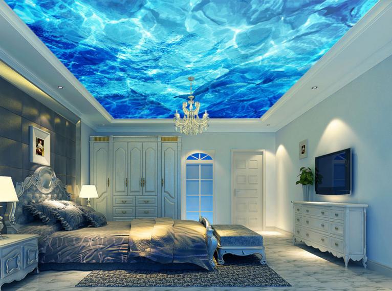 3D Ozean Wal 754 Fototapeten Wandbild Fototapete BildTapete Familie DE Kyra