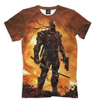 T-shirt fullprint Injustice Deathstroke